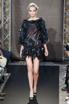 Fred Sathal at Couture Fall 2014 - StyleBistro