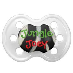 Shop Zebra Fur Personalized Name Pacifier created by stdjura. Cute Baby Gifts, Orthodontics, Boy Names, Cute Babies, Fur, Prints, Design, Names For Boys
