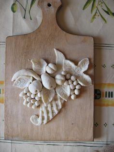 Лепка: для кухонных полотенец (солёное тесто, лепка) ФОТО #1