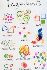 Livre coloriage pour enfants La cuisine aux crayons Texte et illustrations: Hervé Tullet