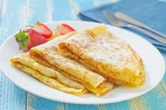 Maintenance: Easy blender crepes, totally Metabolism-friendly -- look incredible for breakfast with fruit, nitrate-free turkey bacon or sausage, or just a smidgen of coconut butter.
