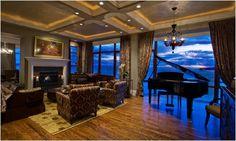 Dream home, piano, new