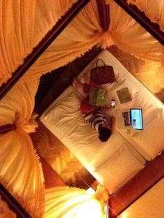 Mein ungewöhnliches Bett im Hotel & Restaurant Höldrichsmühle. #Pilgerhotels auf unserer #Pilgertour auf dem #ViaSacra im #Mostviertel. #bloggerpilgern