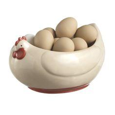 Chicken Ceramic Dish Bowl