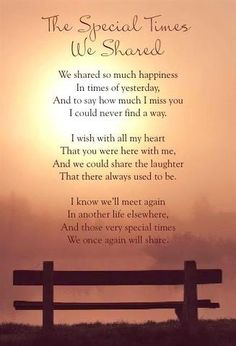 In loving memory of my sweet brother