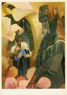 olga74ru | Сказы П.П. Бажова в иллюстрациях Назарука