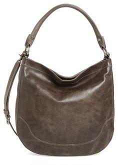 Shop Now - >  https://api.shopstyle.com/action/apiVisitRetailer?id=473595867&pid=uid6996-25233114-59 Frye Melissa Leather Hobo - Grey  ...