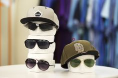 Semi-Casual Shades with Chill Caps.