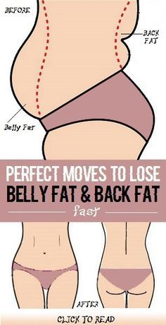 Simple and Effective Excercises for Belly Fat And Back fat
