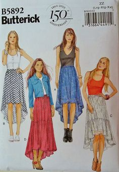 High Low Skirt Pattern - Yahoo Image Search Results
