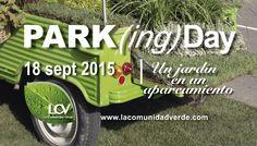 Parking Day 18 de septiembre en Madrid