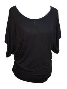 YogaColors Crystal Boatneck Dolman Sleeve Blouse Jersey Tee Up to Plus Size (Large, Black) YogaColors, http://www.amazon.com/dp/B0074T7U7G/ref=cm_sw_r_pi_dp_ZQglqb0NH0EVH