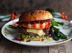 S-Küche: Surf and Turf Burger mit Sauce Béarnaise und Cranb...