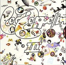 It's Led Zeppelin III. There's a wheel that you turn and as the wheel turns the little round portals display various images. I also like that it's not all concerned with being bad-assed (and thus totally is).