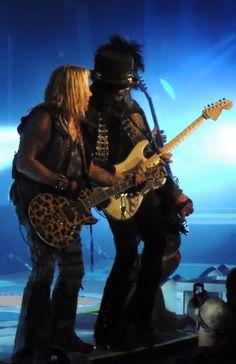 Vince and Nikki and Mick