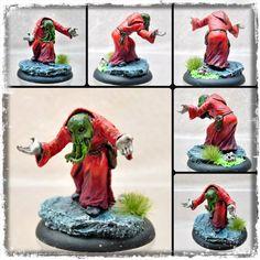 Cthulhu cultist (Scibor Monsterous Miniatures)