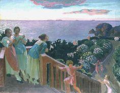 Balcon à Silencio, Peinture de Maurice Denis