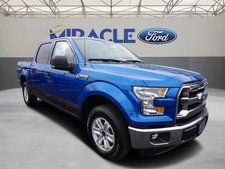 New 2016 Ford F-150 XLT Blue Truck