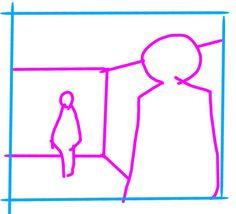 「絵の人物は2人とも160cm、壁は250cm。背景をどう直す?」美術学校の先生による解説がためになる - Togetterまとめ