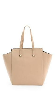 Dreamy carry-all in the perfect creamy nude! #wishlist