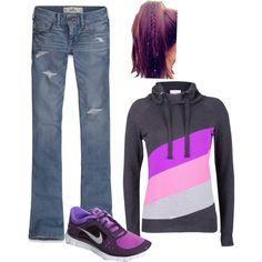 """this is as sporty as I get"" by shelby-ferguson-1 on Polyvore"