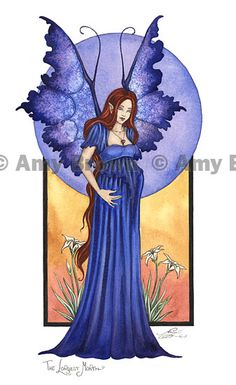 Amy Brown: Fairy Art - The Official Gallery - The Longest Month