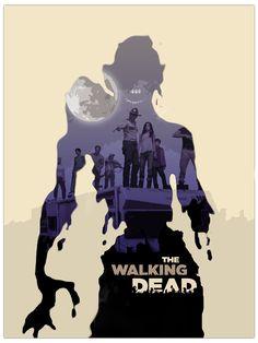 The Walking Dead | Poster Designs on Behance