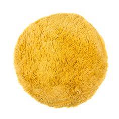 Round Plush Bear Cushion