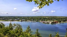Gore Bay from East Bluff by Mikell Herrick