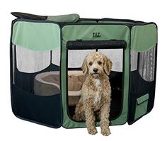 Pet Gear Travel Lite Portable Play Pen/Soft Crate with Removable Shade Top for Dogs/Cats/Rabbits, Easy-Fold + Built-in Stay Fold Band, Durable Fabric, Indoor/Outdoor, 3 Sizes Airline Pet Carrier, Dog Carrier, Outdoor Dog, Indoor Outdoor, Large Dog Crate, Pet Gear, Dog Shower, Dog Diapers, Pet Travel