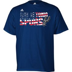 Spurs Pride and American Pride in one - perfect for 4th of July.