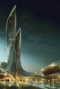 Curve skyscrapet