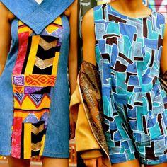 Esse macaquinho exclusivo tem modelagem soltinha e abertura nas costas, perfeito para um dia de férias.  Macaquinho em viscose estampada, obtido através do processo de confecção upcycling. Peça única da micro coleção AFRICAN FEELIGNS, que reutiliza retalhos de tecidos africanos. Vintage, Blouse, Tops, Women, Fashion, African Textiles, Fabric Scraps, Overall Shorts, Openness