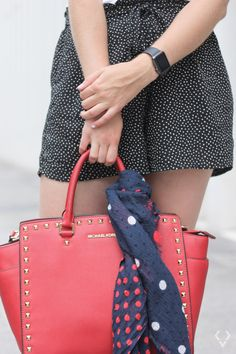 How to Wear Dots - kessyandjoey Kate Spade, Dots, How To Wear, Outfits, Fashion, Stitches, Moda, Suits, Fashion Styles