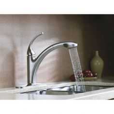 Kitchen:Kitchen ~ Inspiring Modern Stainless Faucets In Washbasin With  Modern Stainless Kitchen Faucets Ultra