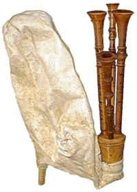 The ciaramedda is a Sicilian bagpipe often found in traditional Italian folk music.