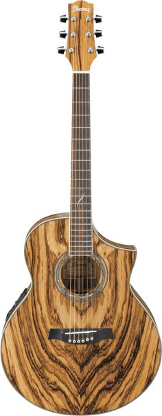 Exotic wood guitar | ew20 exotic wood electro acoustic guitar wood figured ash zebra wood ...  Love the tonality of this wood. Love mine.