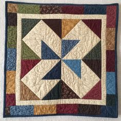 Twisted Triangles | AccuQuilt - Win the Dream Quilt Block Contest