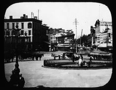 before brooklyn   ... buildings. View 003: City Hall Square. Brooklyn, prior to 1880