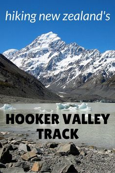 Hiking the Hooker Valley Track at Mount Cook... MUST DO 1/2 day hike.. (located between Milford Sound and Christchurch)