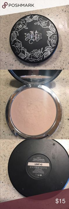 """Kat Von D foundation Shade """"Light 42"""". I bought it online and it's too pale for me. Used it a handful times but there's plenty of formula left! Kat Von D Makeup Foundation"""
