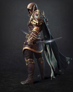 Character Work by euginnx _Wu