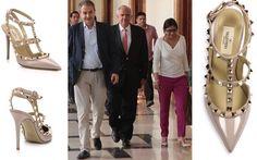 Ministra Delcy Rodríguez luce zapatos valorados en Bs. 1.000.000