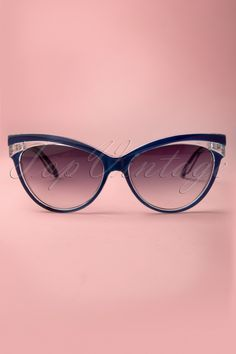 69edf8b0d6 Collectif Clothing - Judy Classic 50s Sunglasses in Navy White Dress Shoes