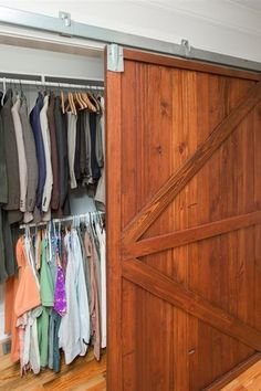Traditional Closet with Household essentials rolling laundry h&er with natural poly bag - antique bronze frame Barn door | closets | Pinterest | Poly ... & Traditional Closet with Household essentials rolling laundry hamper ...