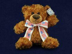 10 Patriotic Teddy Bears (10 Teddy Bears)