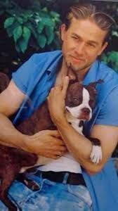 Image result for charlie hunnam with animals