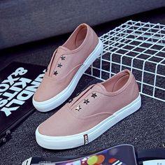 Холст обувь женщин Весна 2017 года новые дикие белые ботинки женщина студента корейской версии педаль обувь ленивые обувь обувь