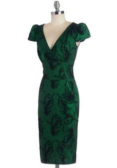 Fete Your Tail Feather Dress | Mod Retro Vintage Dresses | ModCloth.com