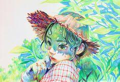 Art Sketches, Art Drawings, Illustration Pop Art, Guache, Illustrations And Posters, Portrait Art, Cute Art, Art Inspo, Painting & Drawing